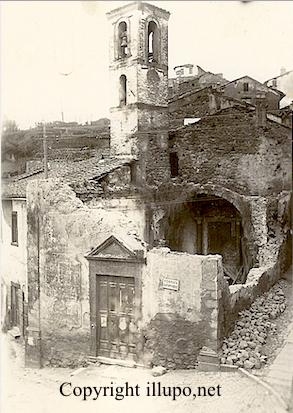 San-Michele-Arcengelo-dopo-lincendio-del-1915
